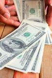 Много кредиток долларов Стоковые Фотографии RF