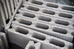 Много кубов кирпича Стоковая Фотография RF