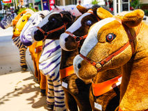 Много кукол лошади Стоковое Изображение