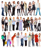 много людей Стоковые Фотографии RF