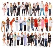 много людей Стоковая Фотография RF