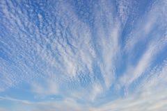 Много малых облаков Стоковое фото RF