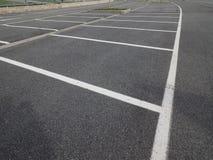 много мест для стоянки Стоковое Изображение RF