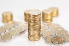 Много монеток Стоковая Фотография