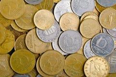 Много монеток стоковое изображение rf