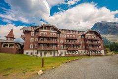 Много национальный парк ледника гостиницы ледника Стоковое Изображение