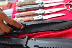 Много острый нож Стоковое Изображение RF