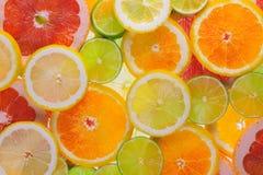 Много отрезанные плодоовощи Стоковое Изображение
