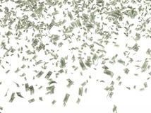 Много 100 долларовых банкнот Стоковые Изображения