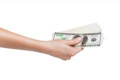 Много долларов Стоковые Фотографии RF