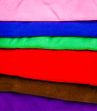 много полотенец Стоковые Изображения RF