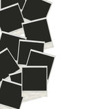 Много поляроидных фото Стоковые Фотографии RF