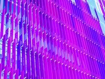 Много пурпура снаружи акриловых листов внутреннего внешнего Стоковая Фотография