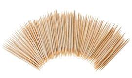 много разбросанных toothpicks формы полуокружности Стоковые Изображения RF