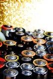 Много различных батарей Стоковая Фотография