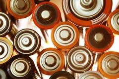Много различных батарей Стоковые Изображения RF