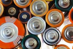 Много различных батарей Стоковое фото RF