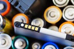 Много различных батарей Стоковая Фотография RF