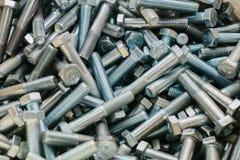 Много различных инструментов крепления используемых в конструкции и в изготовлении ремонта Стоковые Фото