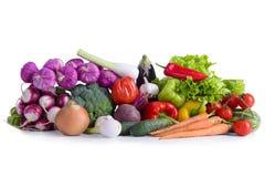 Много различных зрелых овощей Стоковые Фотографии RF