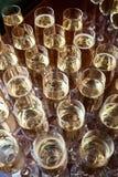 Много стекла с шампанским Стоковая Фотография RF