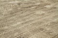 Печать следов автошины Стоковое Изображение RF