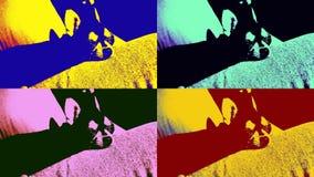 Много теней Nessie Стоковые Изображения