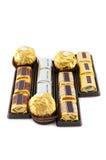 Много типов шоколада Стоковая Фотография RF