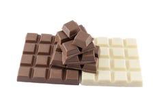 Много типов шоколадного батончика Стоковое фото RF