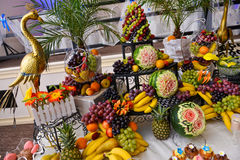 Много тип плодоовощей Стоковые Изображения