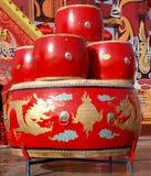 Красный барабанчик Стоковое Изображение