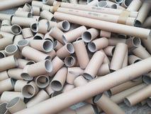 Много трубки коробки для рециркулировать Стоковое Изображение