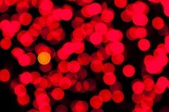 Много цветастых абстрактных пятен света Стоковые Изображения