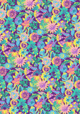 Много цветков. Стоковые Изображения