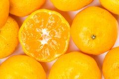 Много цитрусовые фрукты Стоковое Изображение