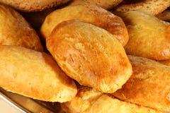 Много частей малого хлеба, конец вверх стоковые изображения rf