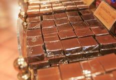Много части шоколада Стоковое Изображение RF