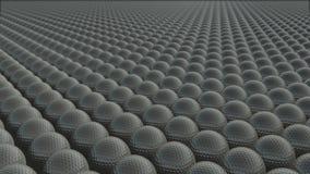 Много шаров для игры в гольф двигают бесконечно бесплатная иллюстрация