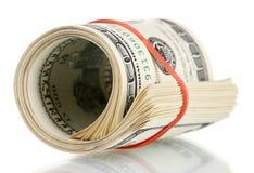 Много 100 счетов доллара Стоковое Фото