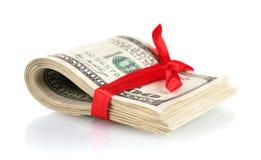 Много 100 счетов доллара Стоковая Фотография