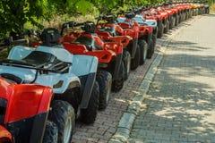Много ATVs Стоковое Фото