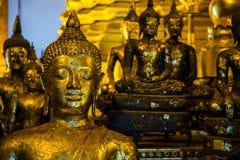 Много Buddhas стоковое изображение