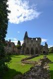 Много Priory Wenlock в Shropshire, Англии Стоковое фото RF