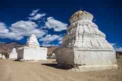 Много stupas Стоковое Фото