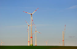 Множественные генераторы ветра. Стоковые Изображения RF