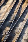 Множественные железнодорожные пути Стоковое Изображение