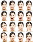 Различные выражения Стоковое фото RF