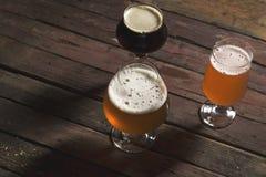 Множественные типы пива Стоковые Изображения