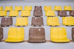 Множество желтых пластичных мест Стоковая Фотография