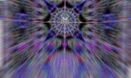 Множество светов в ноче Стоковые Фото